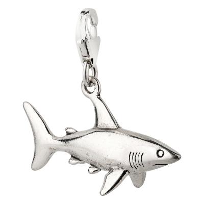 Charm / Anhänger 925 Silber Hai
