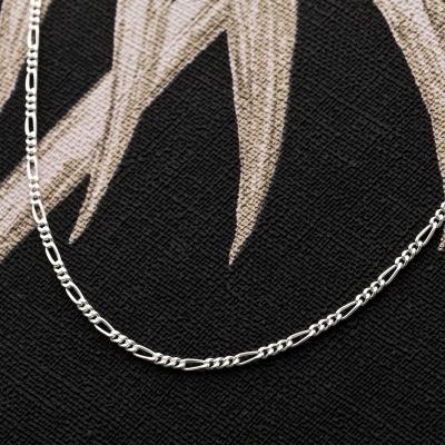 Figarokette 925 Sterling Silber 1,7 mm