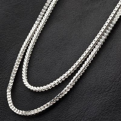 Francokette 925 Sterling Silber 2 mm