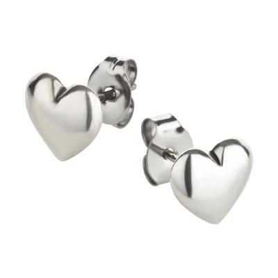 Ohrstecker 925 Silber Herz