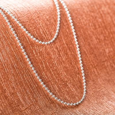 Kugelkette 925 Sterling Silber 1,8 mm