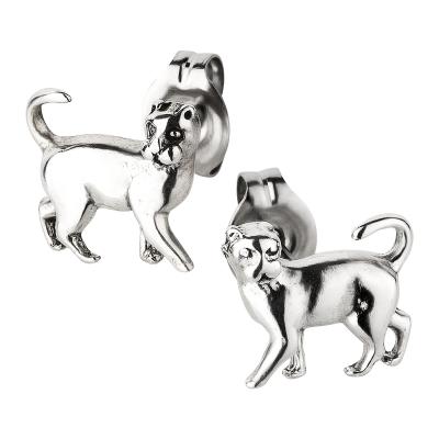 Ohrstecker 925 Silber Katze
