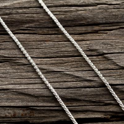 Zopfkette 925 Sterling Silber 1,9 mm