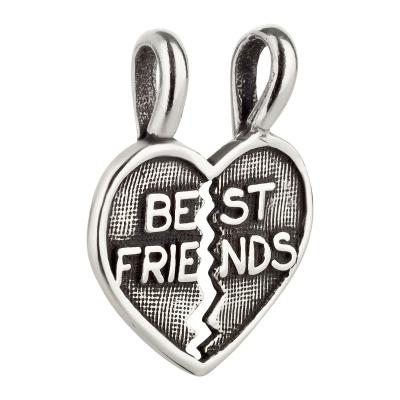 Charm / Anhänger 925 Silber Best Friends