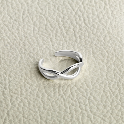 Zehenring 925 Silber Modell 27 Infinity 2
