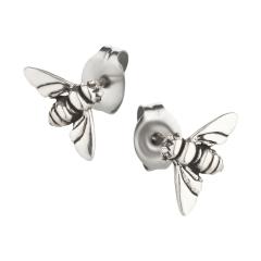 Ohrstecker 925 Silber Biene