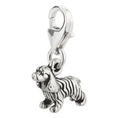 Charm / Anhänger 925 Silber Hund Cocker Spaniel