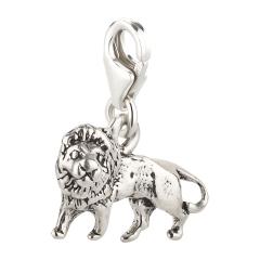 Charm / Anhänger 925 Silber Löwe 2