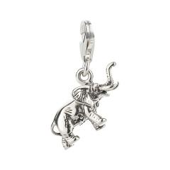 Charm / Anhänger 925 Silber Elefant