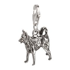 Charm / Anhänger 925 Silber Hund Border Collie 2
