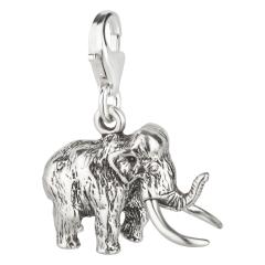 Charm / Anhänger 925 Silber Mammut
