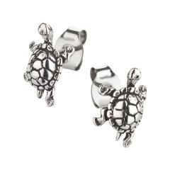 Ohrstecker 925 Silber Schildkröte