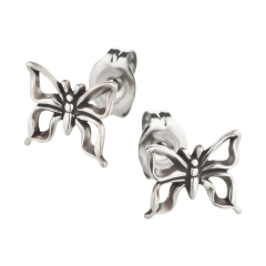 Ohrstecker 925 Silber Schmetterling