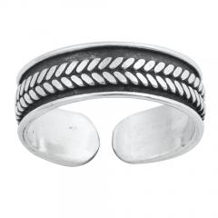 Zehenring 925 Silber Bali Style Modell 13
