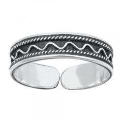 Zehenring 925 Silber Bali Style Modell 4