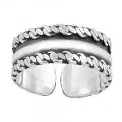 Zehenring 925 Silber Bali Style Modell 8