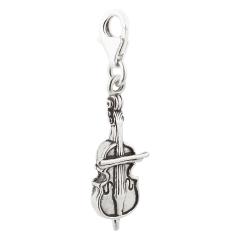 Charm / Anhänger 925 Silber Cello