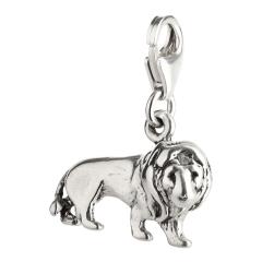 Charm / Anhänger 925 Silber Löwe 1