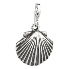 Charm / Anhänger 925 Silber Muschel 3