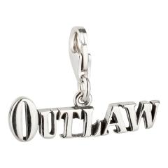 Charm / Anhänger 925 Silber Outlaw