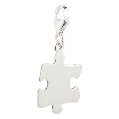 Charm / Anhänger 925 Silber Puzzleteil