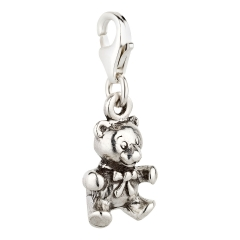 Charm / Anhänger 925 Silber Teddybär 2